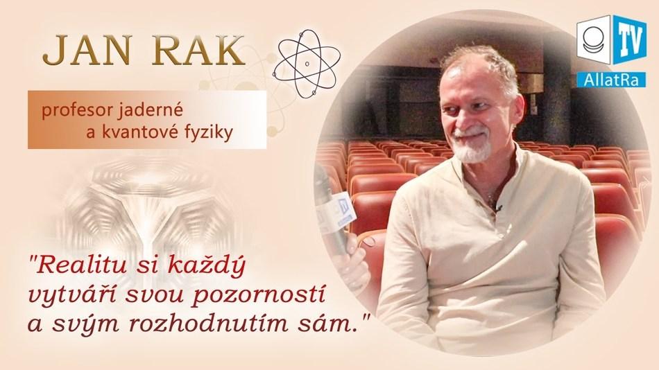 """Rozhovor s profesorem J. Rakem: """"Láska je tvořivá síla, která hne nekonečnou prázdnotou."""""""