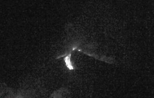 Извержение вулкана в Гватемале 17 декабря 2015