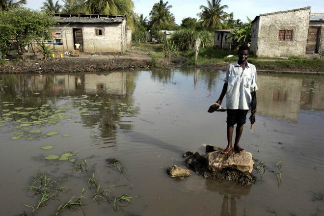 Наводнение в Малави 29 октября 2015