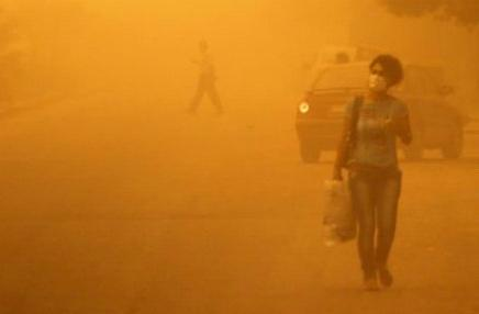 Буря на Ближнем востоке 07-08 сентября 2015