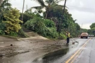 Наводнение на Гавайях 28 сентября 2015