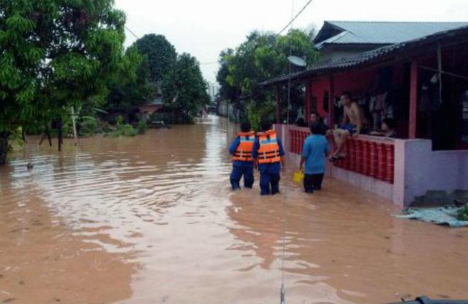 Наводнение в Малайзии 21 марта 2016