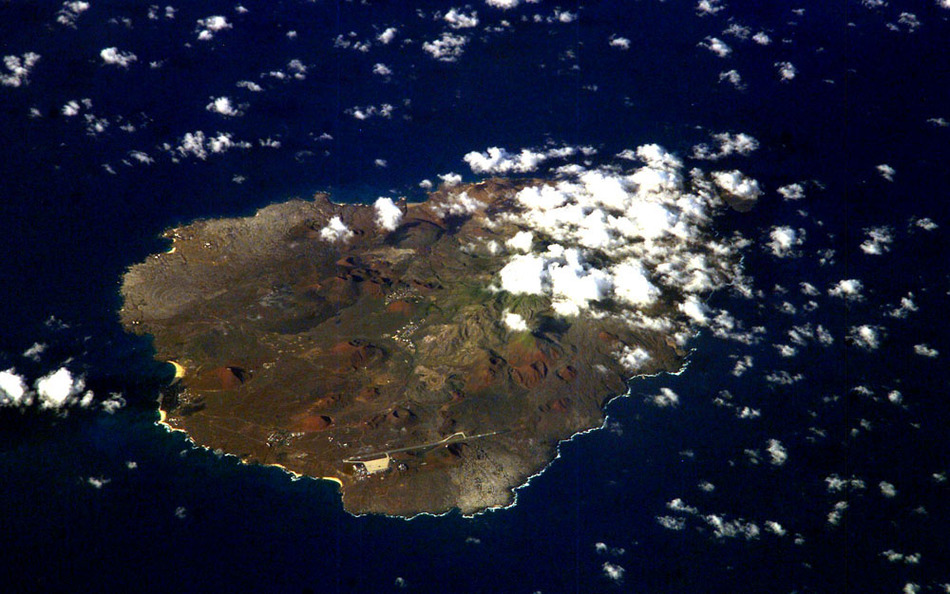 Землетрясение на острове Вознесения 18 декабря 2015