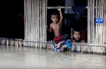 Наводнение в Мьянме 09 августа 2015