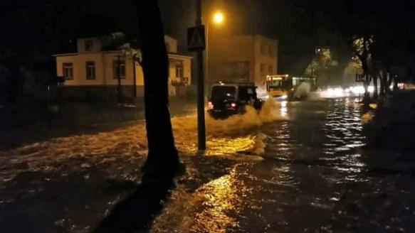 Наводнение в Польше 25 сентября 2015