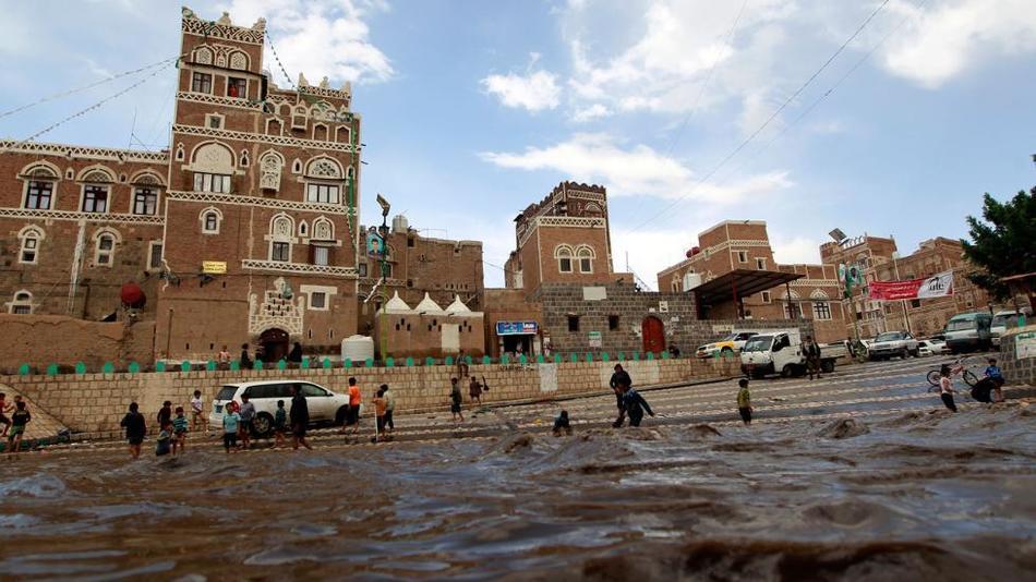 Наводнение в Йемене 14 апреля 2016