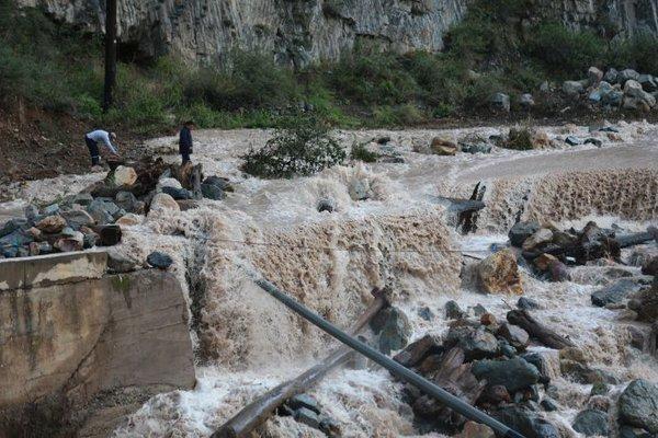 Наводнения в Перу 01 марта 2016