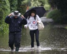 Наводнение на Британских островах 25 августа 2015