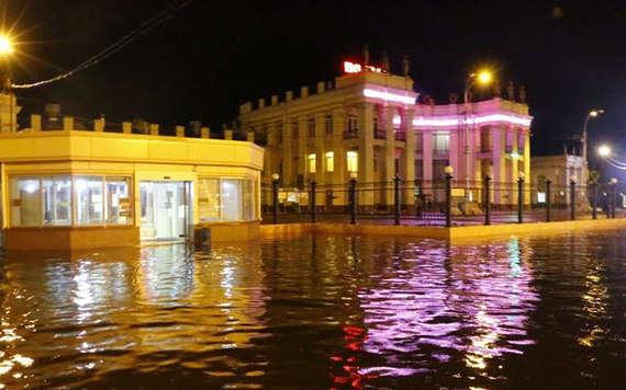 Наводнение в Воронеже 25 июня 2015