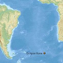 Землетрясение на острове Буве 23 октября 2015