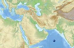 Землетрясение в Аравийском море 28 ноября 2015