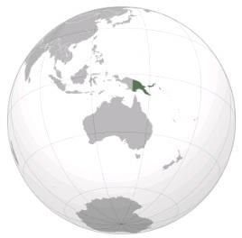 Землетрясение в Новой Гвинее 01 апреля 2016