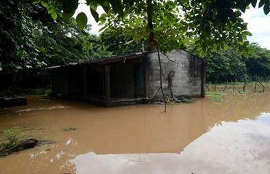 Наводнение в Сальвадоре 16 октября 2015