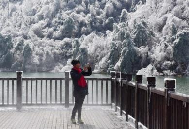 Похолодание в Китае 24 января 2016