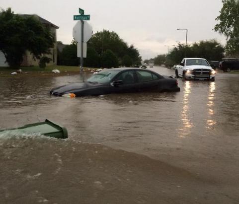 Наводнение в США 31 августа 2015