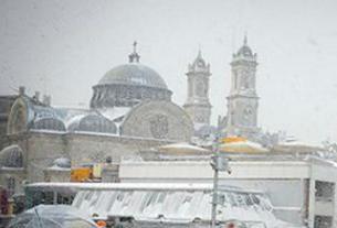 Метель в Турции 30 декабря 2015
